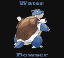 Water Bowser Blastoise  by samjones24