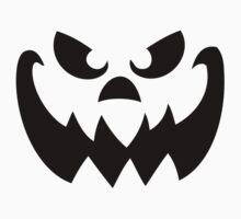 Scary Pumpkin Jack-o-lantern Kids Clothes