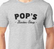 Pop's Barber Shop Unisex T-Shirt