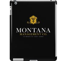 Montana Management Co (aged look) iPad Case/Skin