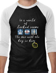 A World of Locked Rooms Men's Baseball ¾ T-Shirt