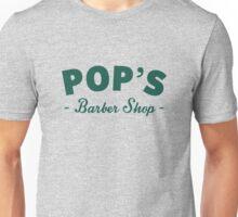 Pop's Barber Shop green Unisex T-Shirt
