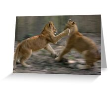 Two Brothers  Greeting Card