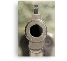 .357 Magnum Revolver - 3 Metal Print