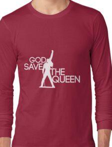 God save the queen Freddie Mercury design Long Sleeve T-Shirt
