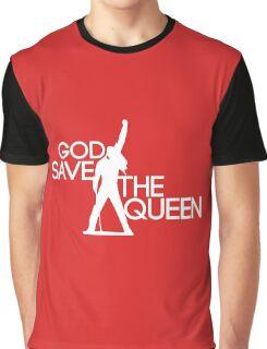 God save the queen Freddie Mercury design Graphic T-Shirt