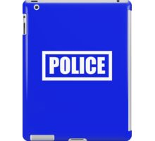 Police Halloween Costume iPad Case/Skin