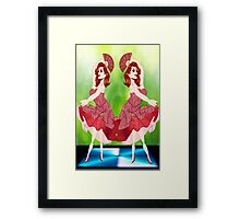 Lets Dance(3849 Views) Framed Print