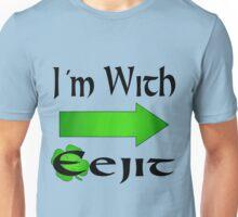 I'm With Eejit Unisex T-Shirt