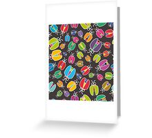 Beetle mania Greeting Card