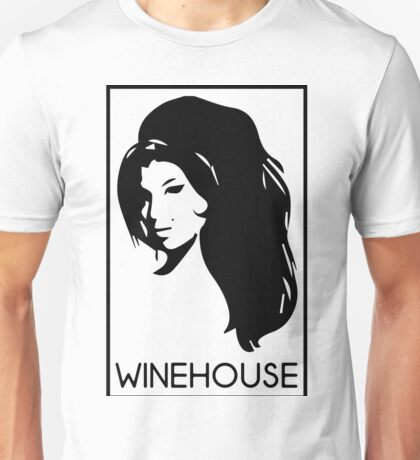 retrato de amy winehouse Unisex T-Shirt