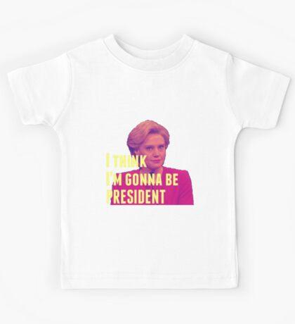 I Think I'm Gonna Be President Kids Tee
