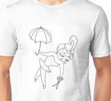 Tightrope girl Unisex T-Shirt