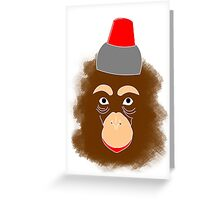 The Apest Escape Greeting Card