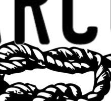 knot narcos Sticker