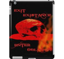 EXIT EXISTENCE - 097 iPad Case/Skin