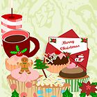 Christmas Cup Cakes (1501 Views) by aldona