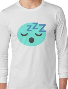 Snoring Candy  Long Sleeve T-Shirt