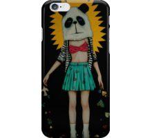 Panda de la serie Hard Candy iPhone Case/Skin