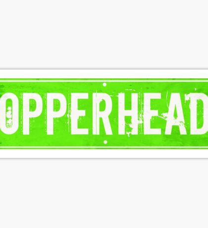 Copperhead Road Sticker