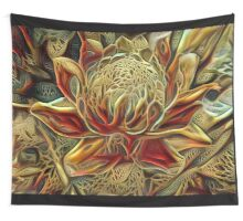 Knitted Torch Wall Tapestry