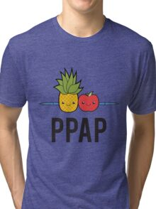 PPAP - Pen Pineapple Apple Pen Tri-blend T-Shirt