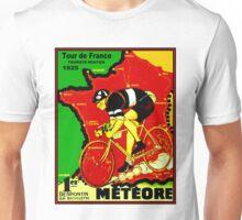 TOUR DE FRANCE; Vintage Cycle Racing Advertising Print Unisex T-Shirt