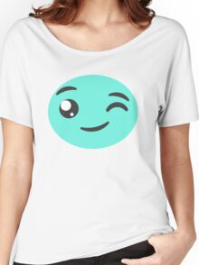 Winking Candy  Women's Relaxed Fit T-Shirt