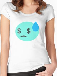 Poor Candy  Women's Fitted Scoop T-Shirt