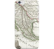 Vintage Map of Texas and Mexico Territories (1810)  iPhone Case/Skin