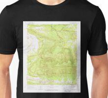 USGS TOPO Map Arkansas AR Blue Mountain 258008 1966 24000 Unisex T-Shirt