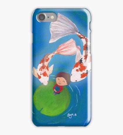 Flying kois iPhone Case/Skin