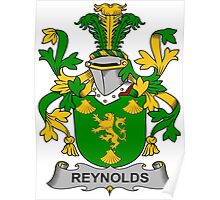 Reynolds Coat of Arms (Irish) Poster