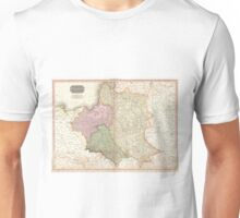 Vintage Map of Poland (1818) Unisex T-Shirt