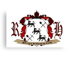 Rockhound Coat of Arms Canvas Print