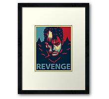 Gutsu from Berserk - Revenge Framed Print