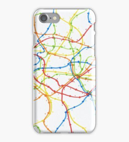 Railway network iPhone Case/Skin