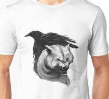 RAVEN AND WOLF Unisex T-Shirt