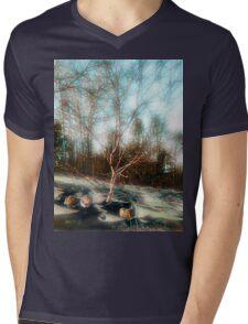Hazy Daydream Mens V-Neck T-Shirt