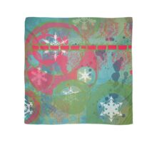 Winter, Snowflakes and Christmas Time Scarf