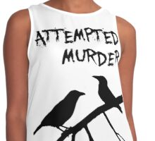 A murder of crows Contrast Tank