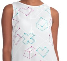 Abstract geometry Contrast Tank