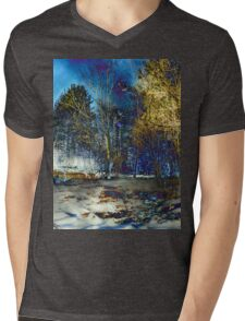 Edge of Reality Mens V-Neck T-Shirt