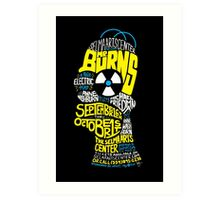 Mr. Burns, A Post-Electric Play Art Print