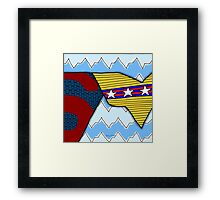 Super Love Framed Print