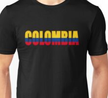 Colombia Flag Unisex T-Shirt