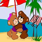 Teddy's At the beach( 810  Views) by aldona