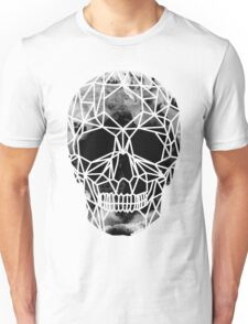 Crystal Skull Infrared Unisex T-Shirt