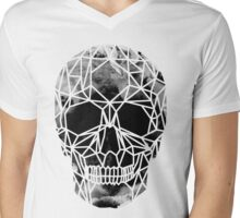Crystal Skull Infrared Mens V-Neck T-Shirt