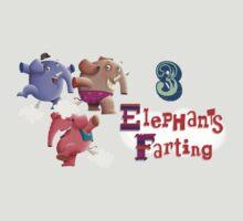 3 Elephants Farting by Shane McGowan